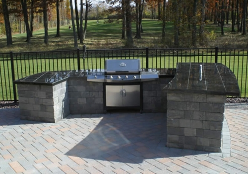 Waterfalls and Outdoor Kitchens